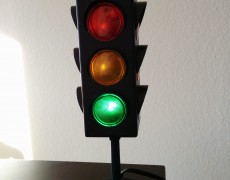 Create Your Own Traffic Signal Status Lamp with Adafruit Flora, Neopixels, and Python